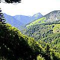 Lo Soum d'Ire (1351 m) depuis le Serròt de Boish.