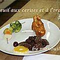 Chevreuil à l'orange et aux cerises
