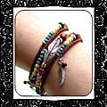 bracelet mémoire amérindien
