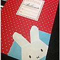 Marque-page miffy 1