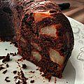Le gâteau chocolat-poires ultra facile et ultra rapide