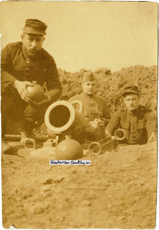 Crapouillot Artillerie tranchée Crapaud Pas de Calais