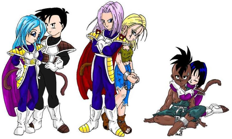 Marron Et Trunks Ado Passion Dbz