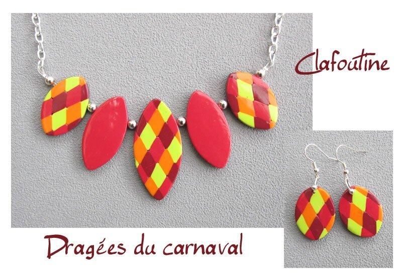 Dragées du carnaval