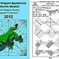 Publié sur le livre collection Czech Origami Society 2012