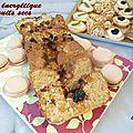 Cake énergétique fruits secs
