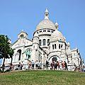 Paris, le Sacré Coeur, de face(75)