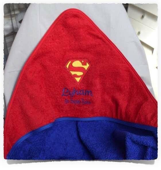Cape de bain SUPER BABY1