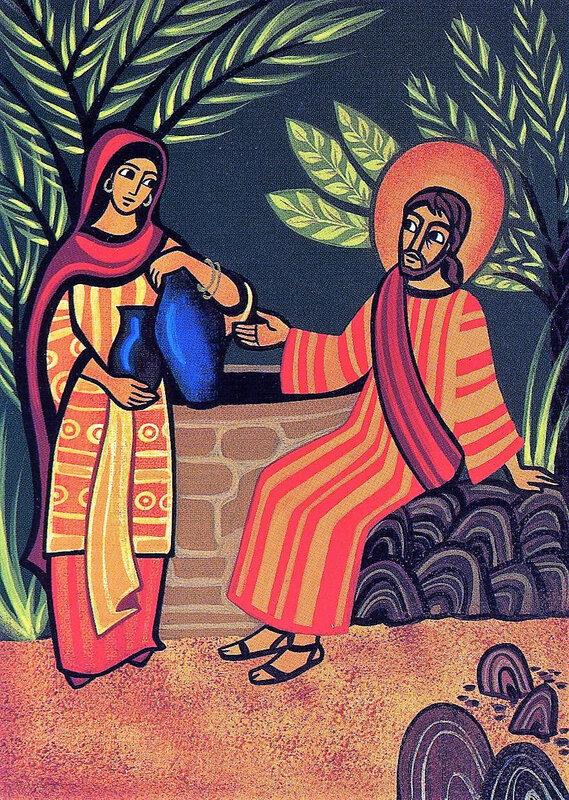 Jésus et la femme samaritaine, Jn 4