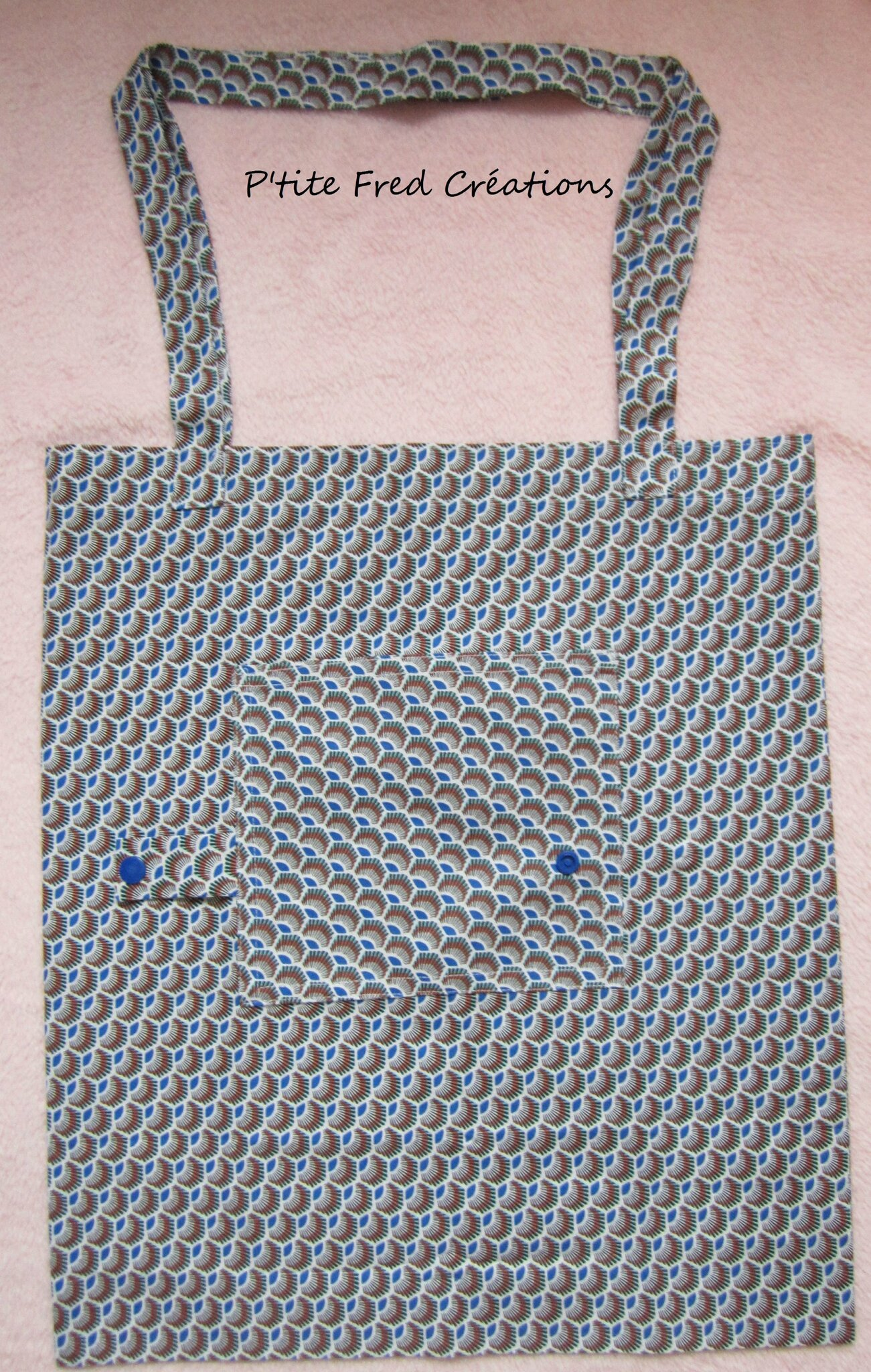 Tote bag ethnique - sac en coton