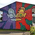 Polynésie française - papeete fresque 9