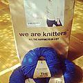 Du bleu pour un tricot....
