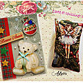Les cartes d'annick, cat, chrinoline, isa