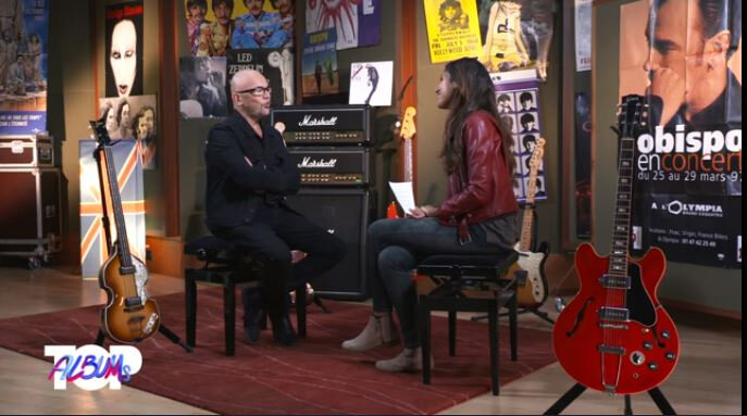 Pascal Obispo invité du Top Album de C Star (Interview)