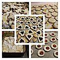 Préparation des brédeles et autres gâteaux de noel