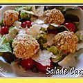 Salade caesar...