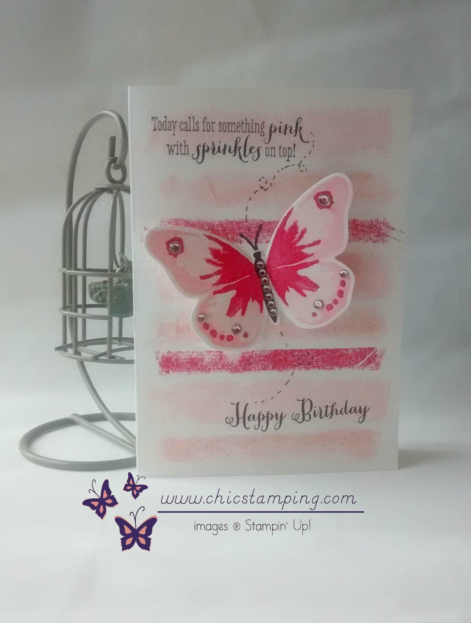 happy birthday butterfly Phyline 1