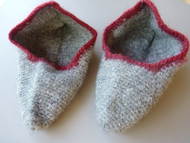 Chaussons feutrés (2)