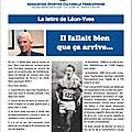 Lettre de Léon Yves Bohain