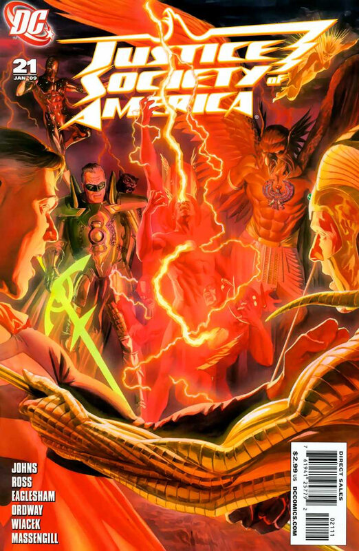 justice society of america 21
