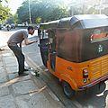 Bus, taxis, richaws et autre moyens de locomotion à chennai (# 1)