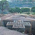 abyss land ,lalibela church