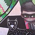 Street art à nantes, quartiers est