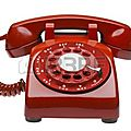 7613010-telephone-rouge-des-annees-60-rotatif