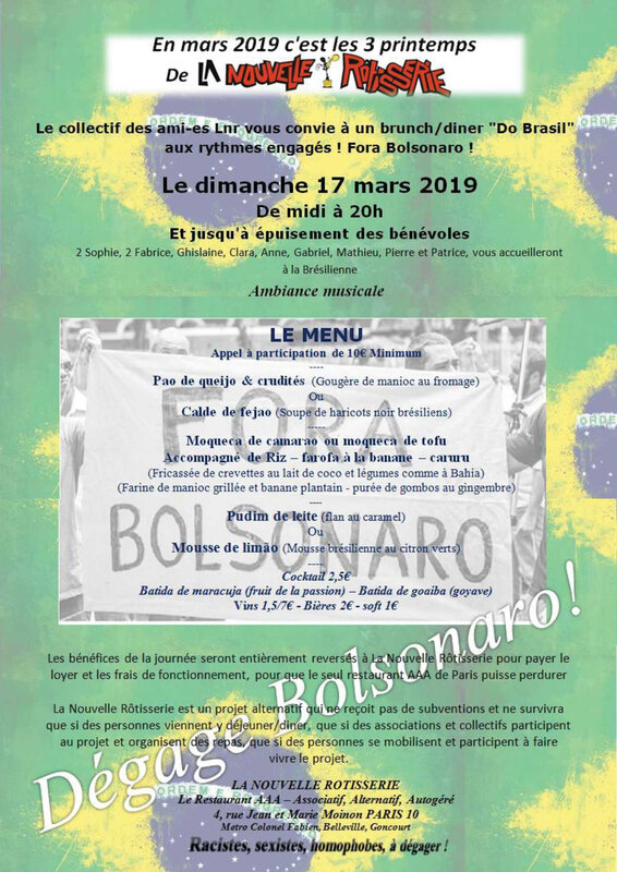 AFFICHE BRUNCH LNR 18 MARS 2019