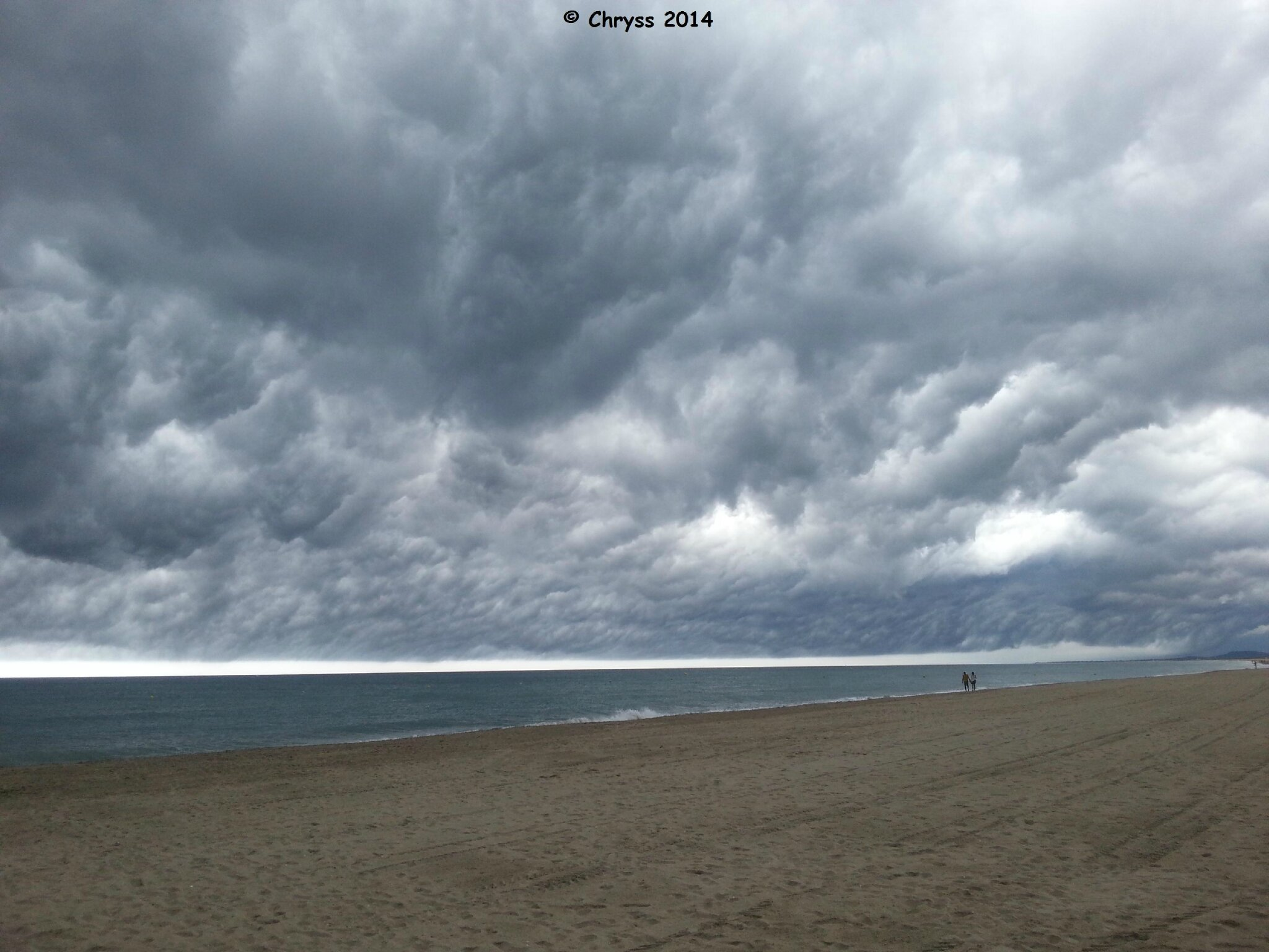Sète - Ciel d'orage