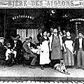 FOURMIES-Café Rue Alphonse MOREAU ou STAINCQ