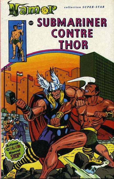 artima namor 04 submariner contre thor
