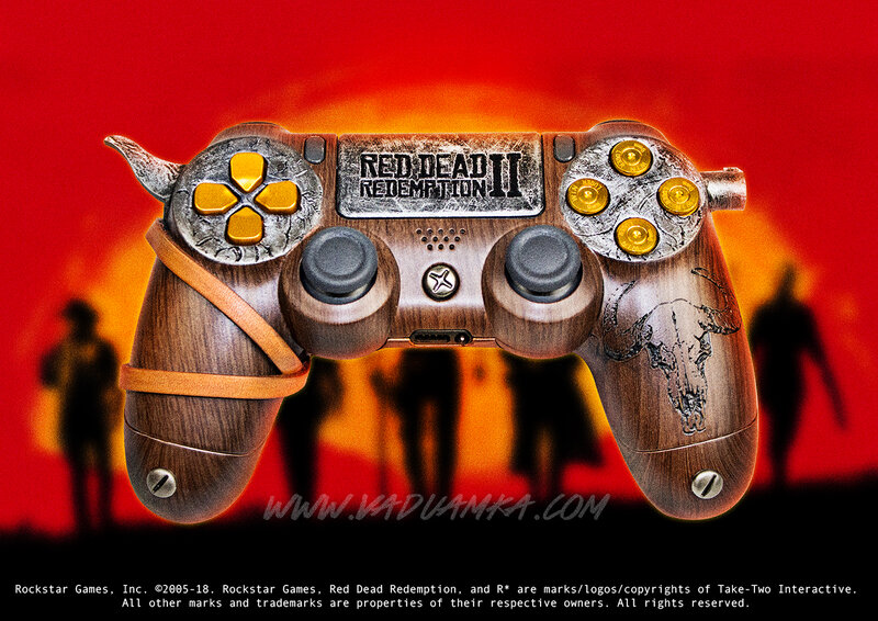 RDR2 controller PS4
