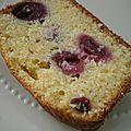 Cake amandes-cerises