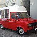 Ford transit mk2 custom food truck almdudler