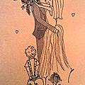 Heureux mariage coraline et julian - commande carte de félicitations