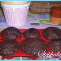 Muffins au chocolat et à la confiture d'orange