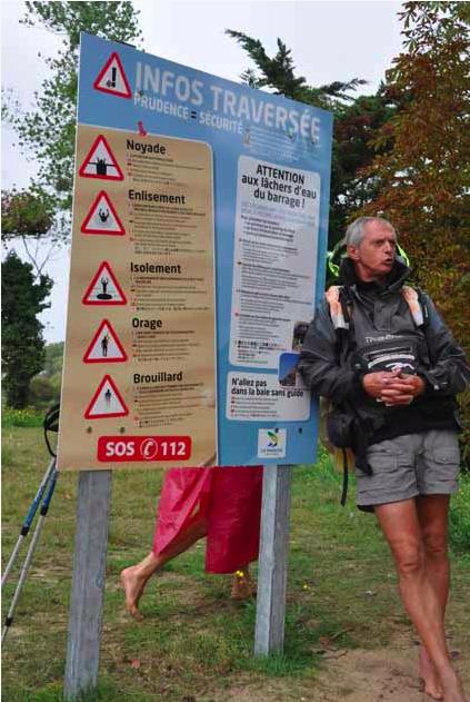 Didier Lavadoux-guide-traversée-Mont Saint Michel