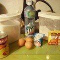Gâteau yaourt aux ananas spécial nico pour mimi