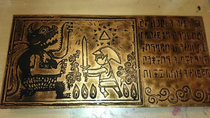 Fresque intro Zelda Wind Waker