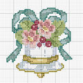 Diagramme cloches ....broderie