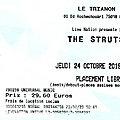 The struts - jeudi 24 octobre 2019 - trianon (paris)
