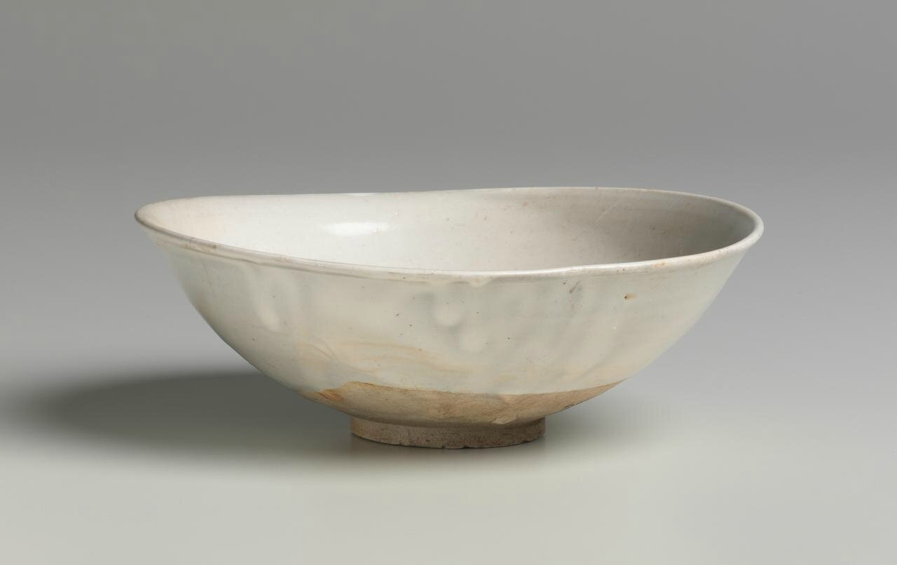 Bowl, Northern Song dynasty, 960 CE-1127, Xing ware