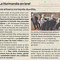 Reunification de la normandie des artisans
