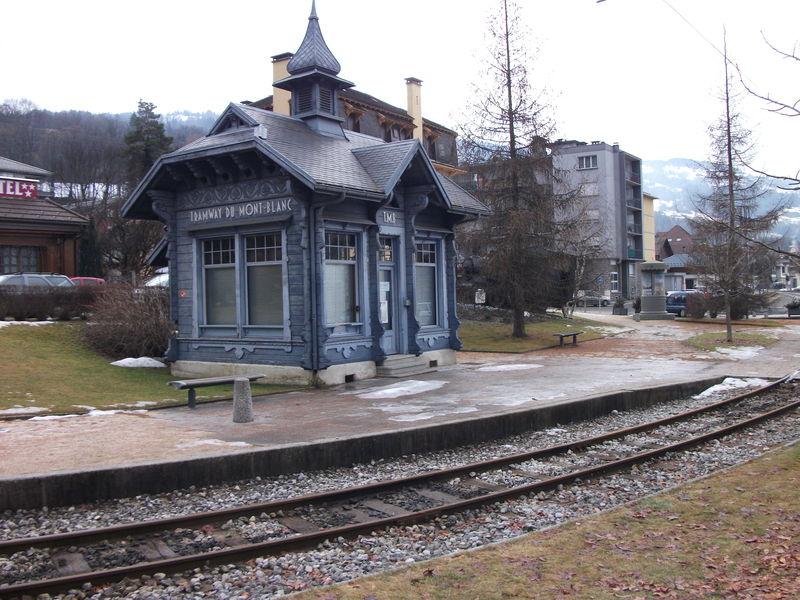 Le Fayet - Tramway du Mont-Blanc (Haute-Savoie)