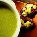 Brocoli soup - soupe au brocoli