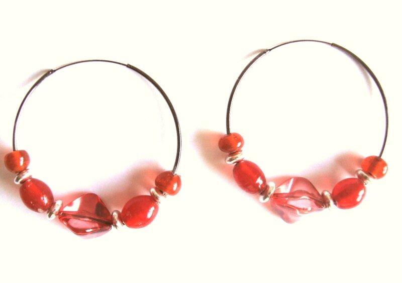 anneaux rouges
