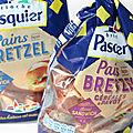 Test pasquier pain bretzel