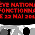 Grèves et manifestations annoncées pour le 22 mai
