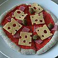 Salé pizza